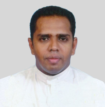 Rev. Fr. Prasanna Dilruk Fernando, Assistant Parish Priest St. Anthony's Church Weliveriya and St. Therese's Church Nakandapola